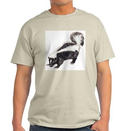 Skunk drawing Light T-Shirt