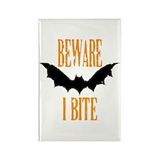 Beware I Bite Magnets