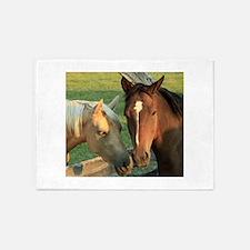 Horse pals 5'x7'Area Rug