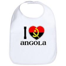 I love Angola Bib
