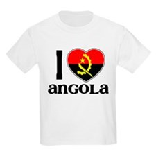 I love Angola Kids T-Shirt
