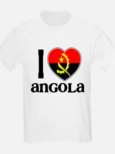 I love Angola Kids T-Shirt