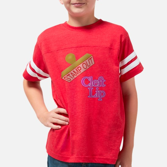 cleft lip Youth Football Shirt