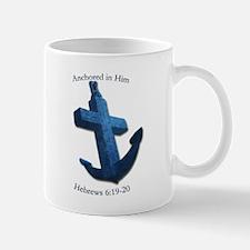Anchored In Him Mugs