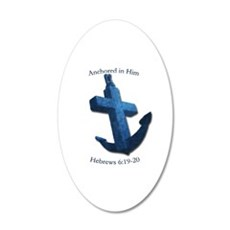 Anchored In Him Wall Decal