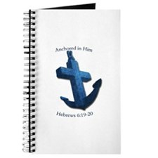 Anchored In Him Journal