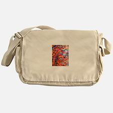 Kente Rainbow Messenger Bag