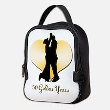 50th Wedding Anniversary Neoprene Lunch Bag