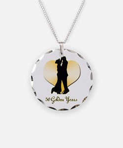 50th Wedding Anniversary Necklace