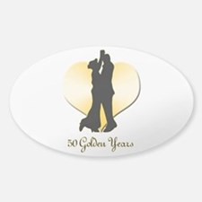 50th Wedding Anniversary Decal