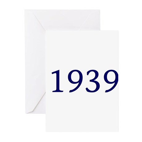 1939 Greeting Cards (Pk of 10)