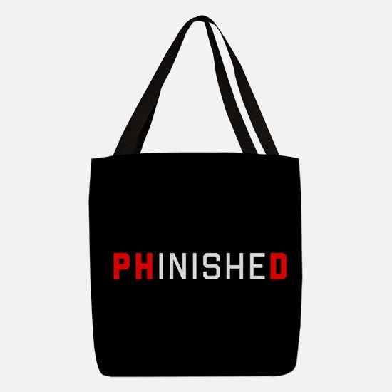 PhinisheD Polyester Tote Bag