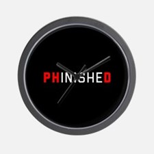 PhinisheD Wall Clock