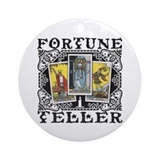 Fortune Teller Ornament (Round)