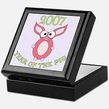 Chinese Year of the Pig Keepsake Box