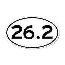 26.2 Oval Car Magnet