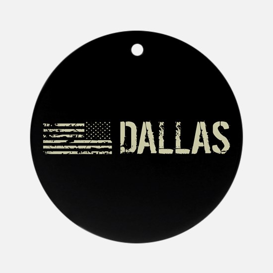 Black Flag: Dallas Round Ornament