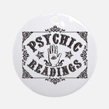 Psychic Readings Ornament (Round)