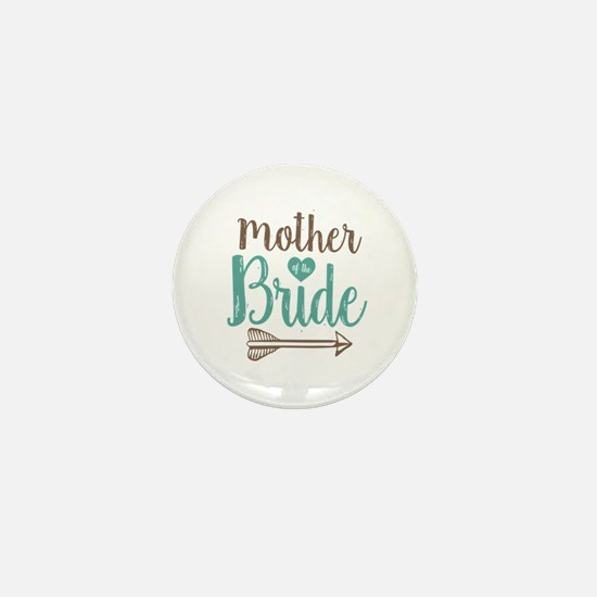 Mother Bride Mini Button (10 pack)