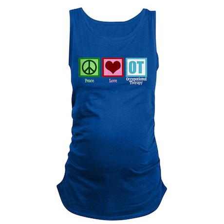 Peace Love OT Maternity Tank Top