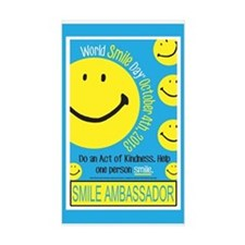 World Smile Day 2013 Poster Decal