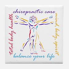 Chiro Balance Tile Coaster
