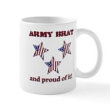 Army Brat Mug - star