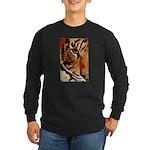Wild Tiger Long Sleeve Dark T-Shirt