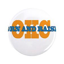 "OKC Born and Raised 3.5"" Button"