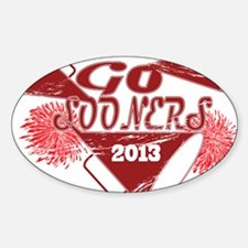 Go Sooners! Decal