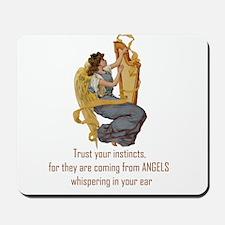 Angels Whispering Mousepad