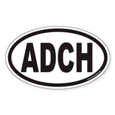 ADCH Euro Oval Decal