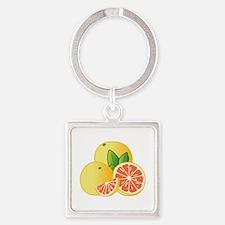 Grapefruit Keychains