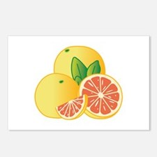 Grapefruit Postcards (Package of 8)