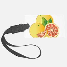 Grapefruit Luggage Tag