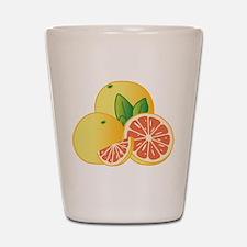 Grapefruit Shot Glass