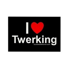 Twerking Rectangle Magnet