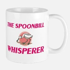 The Spoonbill Whisperer Mugs