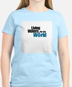 Living Waters for the World Women's Pink T-Shirt