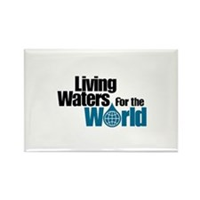 Living Waters for the World Rectangle Magnet