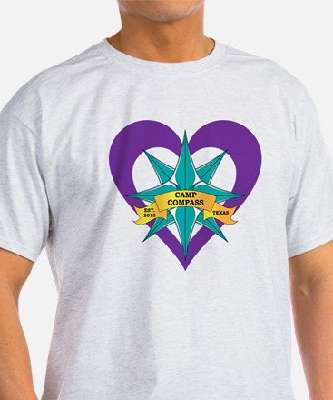 Camp Compass Heart T-Shirt
