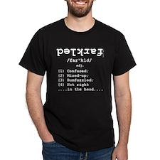 Definition: Farkled Black T-Shirt