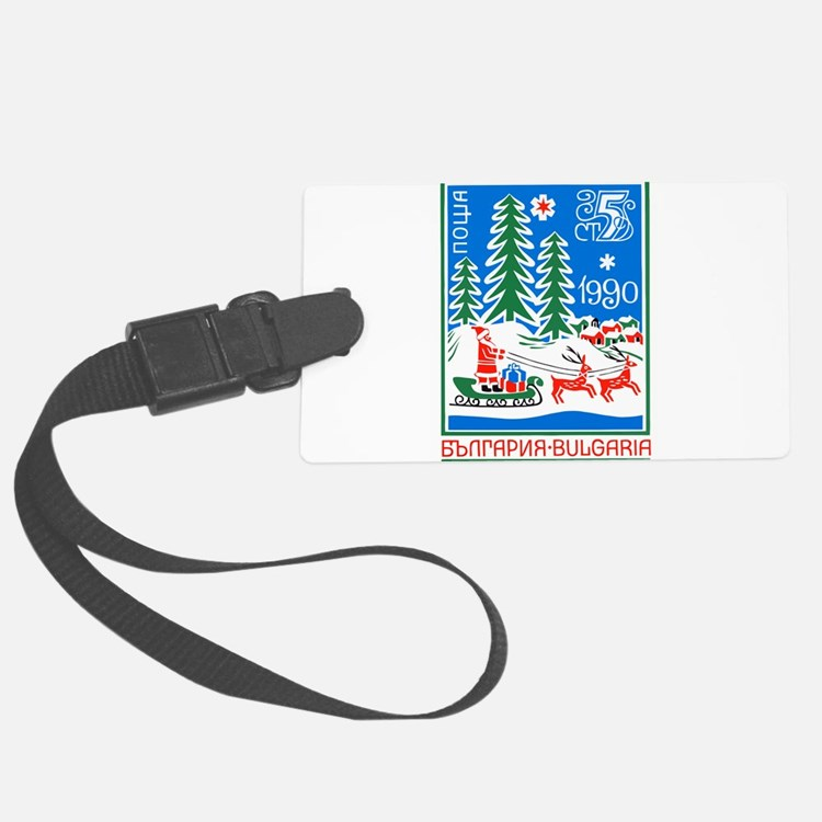 1989 Bulgaria Holiday Santa Claus Postage Stamp Lu