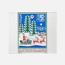 1989 Bulgaria Holiday Santa Claus Postage Stamp Th