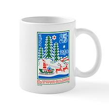 1989 Bulgaria Holiday Santa Claus Postage Stamp Mu