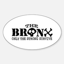 The Bronx Oval Decal