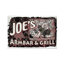 Armbar & Grill MMA 2 Rectangle Magnet (10 pack)