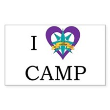 Camp Compass Logo Decal