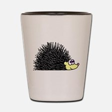 Cute Happy Hedgehog Shot Glass