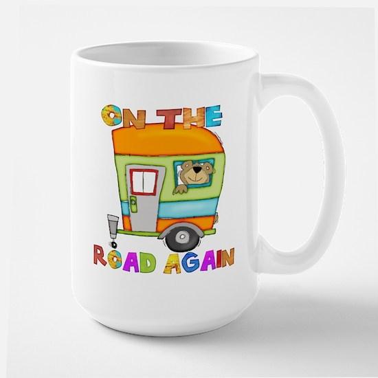 On the road again Large Mug